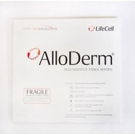 ALLODERM 1cm x 1cm (Acellular Dermal Matrix)