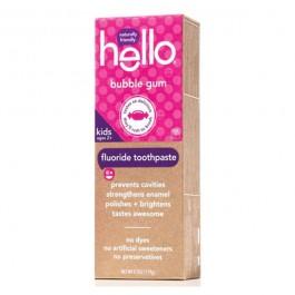 Hello Toothpaste 子供用フッ素入り歯磨き粉(バブルガムフレーバー) 4.2oz x 12本入り