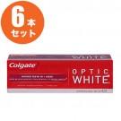 【6本セット】Colgate Optic White 歯磨き粉 3.5oz
