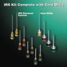 IRS Instrument Removal System 8pcs plus 4 core drills