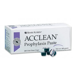 ACCLEAN Prophylaxis Paste Coarse ミント