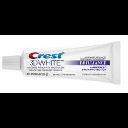 Crest 3D White Brilliance 歯磨き粉 0.85oz 72本入り