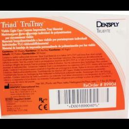 Triad Trutray Custom Tray Material Clear 30/pk