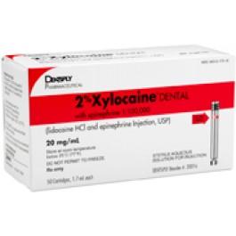 Xylocaine (キシロカイン) 2% with epinephrine  (20016)